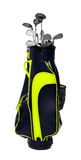 Golf club bag. Stock Photos