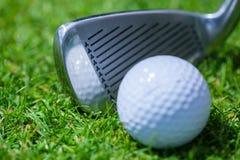 Golf club ball Stock Image