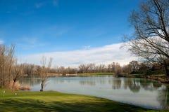 Golf club Casalunga, Bologna Stock Image