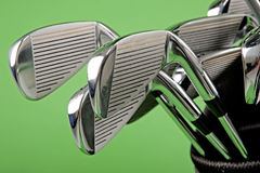 Golf club closeup Royalty Free Stock Photos