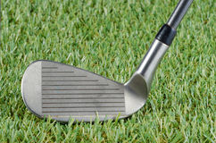 Golf club closeup . Royalty Free Stock Photo
