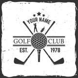 Golf club concept Royalty Free Stock Photo