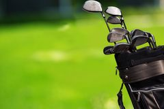 Golf. Club  Course Sport Break Frame Grass royalty free stock image