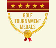 Golf club design Stock Photo