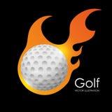 Golf club design Royalty Free Stock Photography