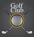 Golf Club Design Element Royalty Free Stock Image