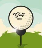 Golf club design Stock Image