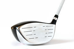 Golf Club, Driver (One Wood). Isolated on a white background Stock Images