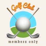 Golf club emblem. Golf logo design template. Golf club emblem vector illustration Stock Photo