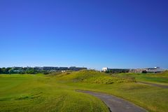 The golf club royalty free stock image