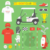 Golf club, golf Stock Photos