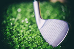 Golf Club head macro Stock Image