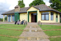 Golf club house Royalty Free Stock Photography