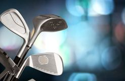 Golf. Club Isolated Equipment Hobbies Sport Man Made Object royalty free stock images
