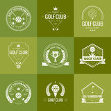 Golf Club Logo Royalty Free Stock Photography