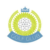 Golf club logo. Vector illustration Royalty Free Stock Photography