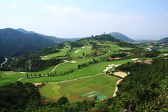 Golf Club at OCT East Stock Images
