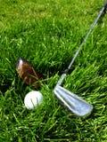 golf club piłkę Fotografia Stock