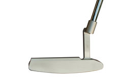 Golf club Putter. On white background Stock Photography