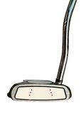 Golf club Putter  on white background Royalty Free Stock Photos