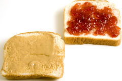 Golf club sandwich Stock Images
