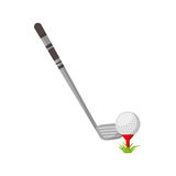 Golf club sport icon Stock Photography
