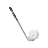 Golf club sport icon Royalty Free Stock Photo