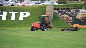 Golf club stock video