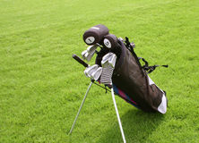 Golf clubs Royalty Free Stock Image
