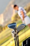 Golf clubs Stock Images