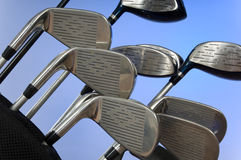 Golf clubs Stock Photography