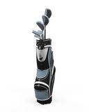 Golf clubs and Bag Royalty Free Stock Photography