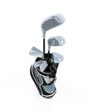 Golf clubs and Bag Royalty Free Stock Image