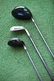Golf clubs closeup Royalty Free Stock Images