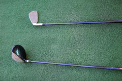 Golf clubs closeup Stock Image
