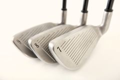 Golf Clubs Isolated Stock Images