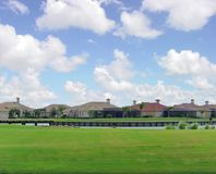 Golf Community. Community Golf course Stock Photos