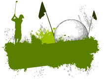 Golf competition Stock Photography