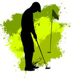 Golf competition Royalty Free Stock Image