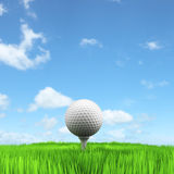 Golf concept Royalty Free Stock Photo