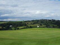 Golf in the countryside Stock Image