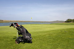 Golf Course. On Algarve, Portugal Royalty Free Stock Photography