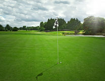 Golf course. In Adare - Ireland Stock Photos