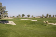 Golf course Royalty Free Stock Image