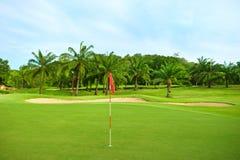 Golf Course. In Thailand, Hua Hin Stock Image