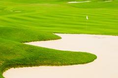 Golf course. In the sunshine stock photos