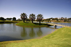 Golf Course. On Algarve, Portugal Stock Images