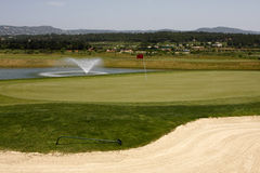 Golf Course. On Algarve, Portugal Royalty Free Stock Photo