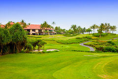 Golf course Royalty Free Stock Photography
