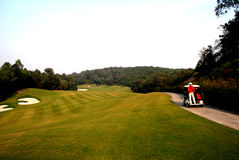 Golf course. A golf course in south china Royalty Free Stock Photos